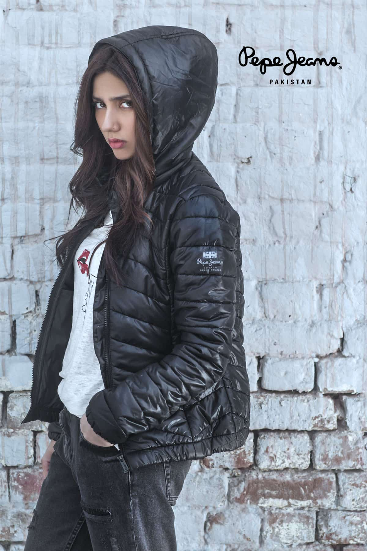 Mahira Khan for Pepe Jeans Pakistan Winter 2015 Campaign – #MKLovesPepe (12)