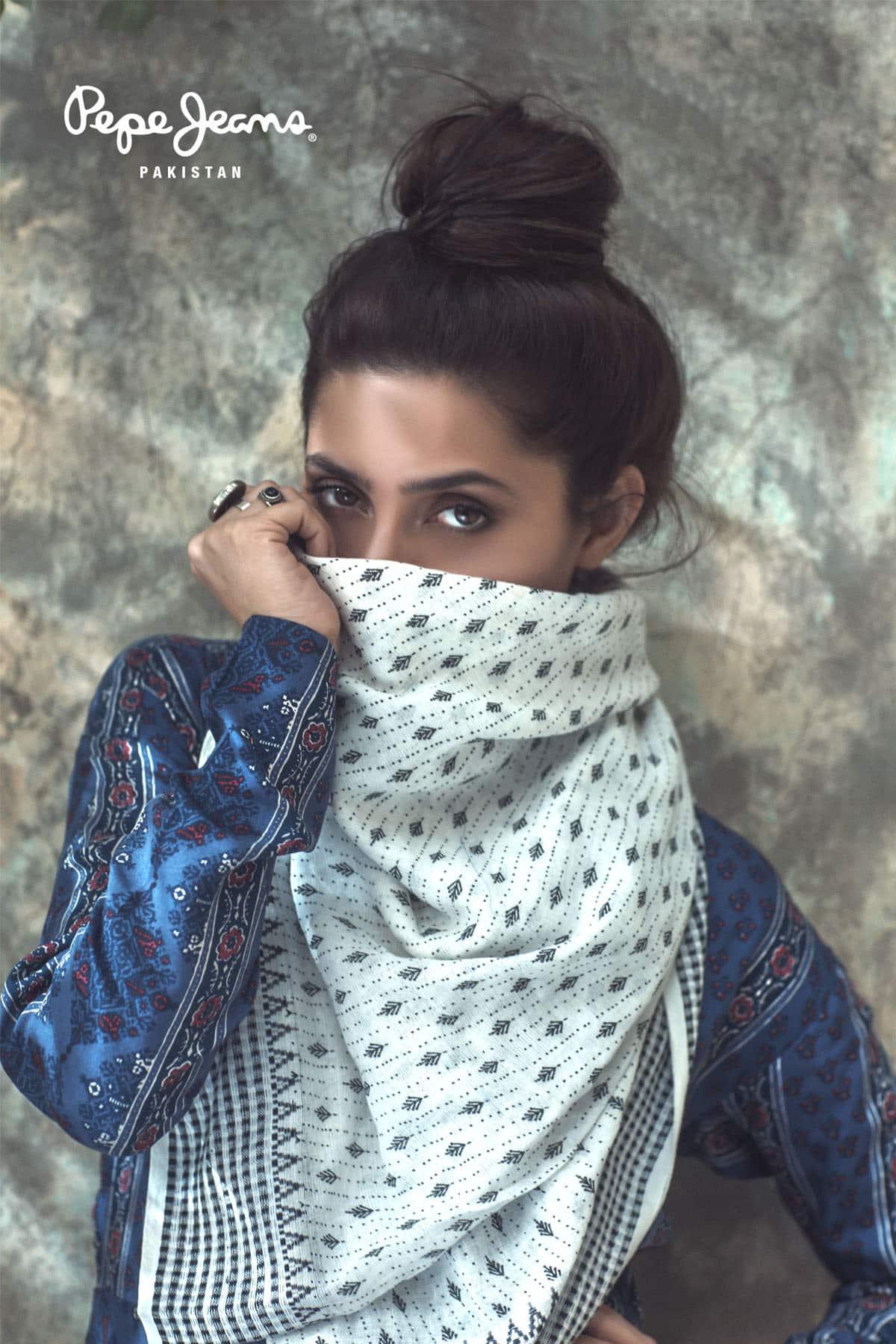 Mahira Khan for Pepe Jeans Pakistan Winter 2015 Campaign – #MKLovesPepe (14)