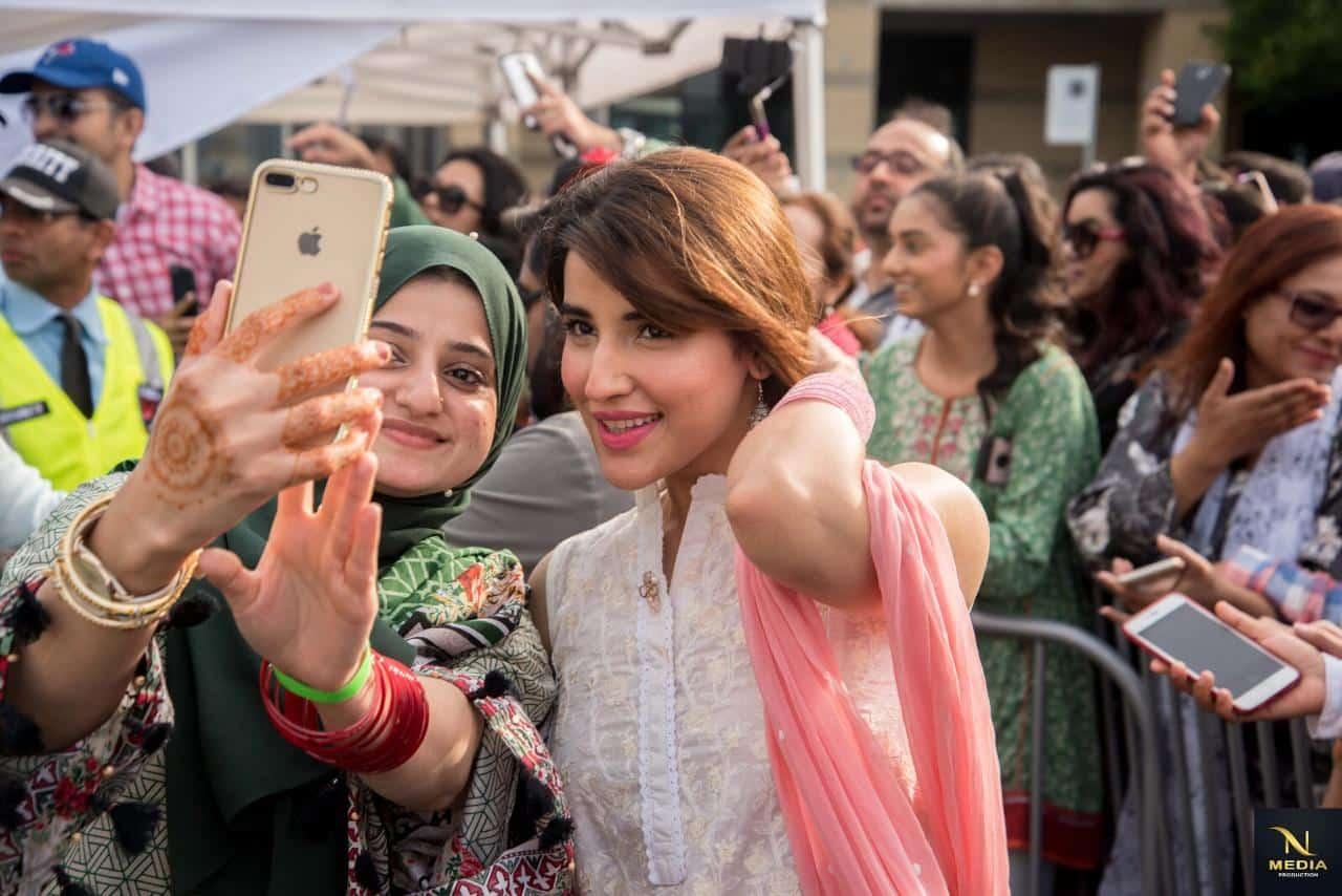 Selfie time with Hareem Farooq
